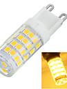 6W G9 Luminarias de LED  Duplo-Pin Encaixe Embutido 51 SMD 2835 400-500 lm Branco Quente / Branco Frio Decorativa AC 220-240 V 1 pc