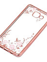 For Samsung Galaxy Case Transparent Case Back Cover Case Flower TPU Samsung J7 / J5 (2016) / J5 / J3