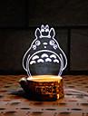 visuella 3d hantlangare ledde dekoration usb bordslampa färgrik gåva nattlampa (diverse färg)