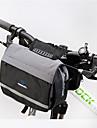 ROSWHEEL® Borsa da bici 5LSacca da manubrio bici / Borsa a tracolla Zip impermeabile / Antiumidita / Resistente agli urti / Indossabile