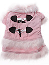 Dog Coat Pink Dog Clothes Winter Classic