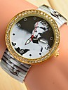 Women\'s Fashion Watch Simulated Diamond Watch Casual Watch Quartz Alloy Band Multi-Colored