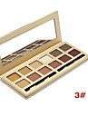 Miss Rose Makeup Matte Eye Shadow Palette 12 Colors Professional Colorful Eyeshadow Long-wear Waterproof Maquiagem