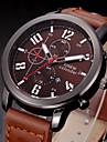 Men Casual Watch Quartz Hour Date Clock Men Sport Watches Men\'s Leather Military Wrist Watch Relogio Masculino