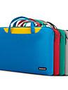 pofoko® tecido impermeavel oxford laptop manga de 13,3 / 14 polegadas verde / preto / azul / cinza