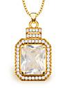 высокое качество циркон подвески женщины / мужчины старинных ювелирных изделий подарка золото 18k покрыло моды африканского