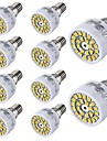 YouOKLight® 10PCS E14 3W 24-SMD 2835 LED Spotlight White Warm White Light  300lm (AC 220~240V)