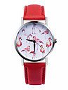 Flamingo Watch Women Watches Leather Unique Jewelry Accessories Gift Idea Spring Unique Custom Ladies Birds Trendy