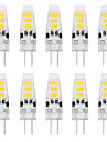 YouOKLight 10PCS 5733 Lampada LED Lamp 12V G4 Silicone Light bombillas led Bulb 6LED Bi-pin Lights