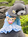 Dog Hoodie / Dress Blue / Pink Dog Clothes Winter / Spring/Fall Deer Cute / Fashion