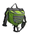 Dog Backpack Orange / Green / Blue Dog Clothes Summer / Spring/Fall Solid Sports