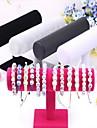 Коробки для бижутерии Подставки для бижутерии Нейлон 1шт Розоватый Черный и белый