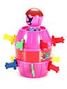 참신 장난감 게임 장난감 장난감 장난감 원통형 ABS 오렌지 / 피치 아동용