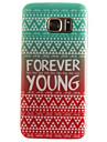 Pour Samsung Galaxy S7 Edge Motif Coque Coque Arriere Coque Mot / Phrase Flexible PUT pour SamsungS7 edge S7 S6 edge S6 S5 Mini S5 S4