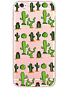 Shockproof/Pattern Cartoon Cactus TPU Hard Case Back Cover Fundas For iPhone 6s Plus/6 Plus/iPhone 6s/6/iPhone 5/5s/SE