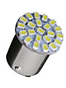 10 X White 1156 BA15S 22-SMD LED Light bulbs Turn Signal Backup P21W 382 7506