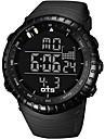 Da uomo Orologio sportivo / Orologio alla moda Digitale LCD / Resistente all\acqua / allarme / Luminoso / Cronometro Gomma Banda