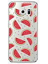 Watermelon Soft  Ultra-thin Soft Back Cove for Samsung Galaxy S7 edge / S7 / S6 edge plus / S6 edge / S6 / S5/S4