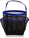 8 сетки сетки ванной висит мешок хранения мыть мешок