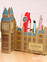 DIY Cardboard Desktop Storage Box(The Big Ben)