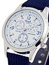 Men\'s Fashion Watch Wrist watch / Quartz Fabric Band Cool Casual Black Blue Green