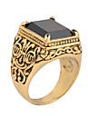 Кольца на вторую фалангу Кристалл Драгоценный камень Мода Серебряный Золотой Бижутерия Для вечеринок Повседневные Новогодние подарки 1шт