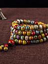 Homme Femme Bracelets de rive Mode Perle Multicouches Ceramique Forme de Cercle Bijoux Pour Quotidien Decontracte