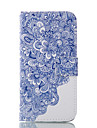Pour Samsung Galaxy Coque Portefeuille Porte Carte Avec Support Coque Coque Integrale Coque Fleur Flexible Cuir PU pour SamsungJ7 (2016)