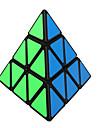 Shengshou® Гладкая Speed Cube 3*3*3 Скорость / профессиональный уровень Кубики-головоломки черный увядает PVC