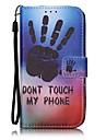 Для Кошелек / Бумажник для карт Кейс для Чехол Кейс для Мультяшная тематика Твердый Искусственная кожа AppleiPhone 7 Plus / iPhone 7 /