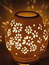 1pc plug-in eletrico de ceramica que se movem luz escavar lampada da fragrancia pequena luz noturna