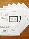 подарок украшение печать наклейка комплект 6 шт