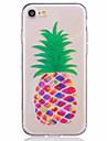 Pour iPhone 8 iPhone 8 Plus iPhone 7 iPhone 7 Plus iPhone 6 Etuis coque Motif Coque Arriere Coque Fruit Flexible PUT pour Apple iPhone 8