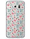 Pour Samsung Galaxy S7 Edge Transparente / Motif Coque Coque Arriere Coque Animal Flexible TPU SamsungS7 edge / S7 / S6 edge plus / S6