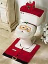 joyeux noël et bonne année meilleur cadeau de Noël ; noël décorations tapis de bain de siège de toilette