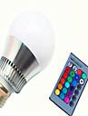 Ac85-265v 8w rgb telecommande couleur led ampoule intelligente 1pc