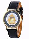 아가씨들 드레스 시계 패션 시계 손목 시계 / 석영 PU 밴드 부엉이 블랙 화이트 블루 레드 브라운 그린 아이보리 로즈 골드