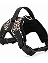 Cat / Dog Harness Adjustable/Retractable / Cosplay / Solid / Padded Red / Black / Green / Brown Textile