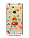 Back Cover Translucent Christmas gifts TPU Soft Case Cover For AppleiPhone 7 iPhone 7 plus iPhone 6 6 Plus iPhone 5