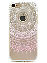 Pour Coque iPhone 7 Coque iPhone 6 Coque iPhone 5 Motif Coque Coque Arriere Coque A Dentelle Flexible PUT pour AppleiPhone 7 Plus iPhone