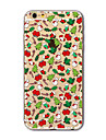 Back Cover Translucent Christmas Snowman TPU Soft Case Cover For AppleiPhone 7 iPhone 7 plus iPhone 6 6 Plus iPhone 5