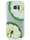 For Samsung Galaxy S5 S6 Lemon Pattern Tpu Material Highly Transparent Phone Case For Samsung Galaxy S5 S6 S7 S7 Edge