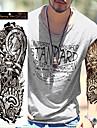 Tatuagens Adesivas Outros nao toxica Tamanho Grande A Prova d\'agua Feminino Masculino Adolescente Tatuagem Adesiva Tatuagens temporarias