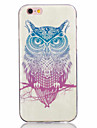 For iPhone X iPhone 8 iPhone 7 iPhone 6 iPhone 5 Case Case Cover Ultra-thin Pattern Back Cover Case Owl Soft TPU for Apple iPhone X