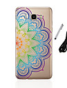 For Samsung Galaxy J3 (2016) J5 (2016) Translucent Pattern Case Back Cover Case Mandala Soft TPU J1 J3 J5