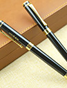 Boligrafo Boligrafo Plumas estilograficas Boligrafo,Metal Barril Negro colores de tinta For Suministros de la escuela Material de oficina