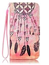 For Samsung Galaxy S7 edge S7 Card Holder Wallet with Stand Case Full Body Case Dream Catcher Hard PU Leather S6 edge S6 S5