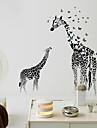 Животные / Натюрморт / Отдых Наклейки Простые наклейки / Зеркальные стикеры Декоративные наклейки на стены,PVC материал СъемнаяУкрашение
