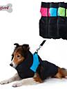 Собаки Плащи / Жилет Зеленый / Синий / Розовый Одежда для собак Зима Контрастных цветов Сохраняет тепло