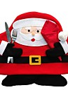 Christmas Santa Claus Elk Tableware Placemats Party Home Dinner Table Decor New